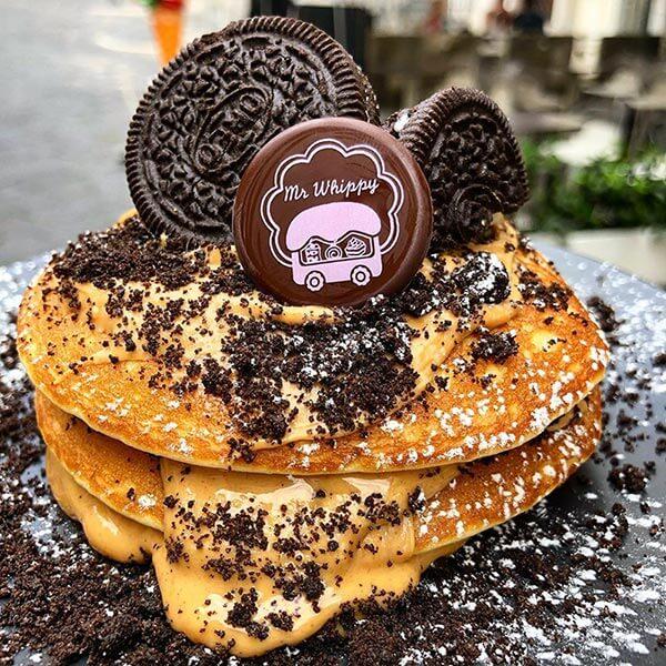 pancakes oreo